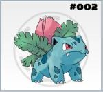 Pokedex Nº:1 (Nome,foto e tipo) 002-ivysaur